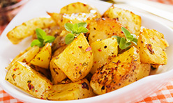 Spicy Chipotle Potatoes Foodservice Recipe using Cook's Delight® Chili/Chipotle Pepper Flavor Concentrate