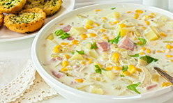 Roasted Corn Chowder Foodservice Recipe using Cook's Delight® Chicken Soup Base