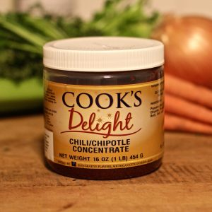 Cook's Delight Chili Chipotle Flavor Concentrate 1 lb jar