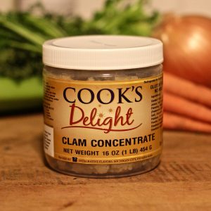 Cook's Delight Clam Flavor Concentrate 1 lb jar