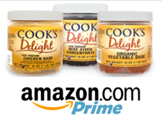 Cook's Delight available for purchase on Amazon