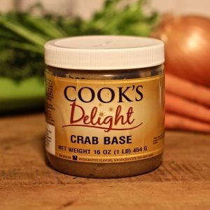 Cook's Delight Crab Soup Base 1 lb jar