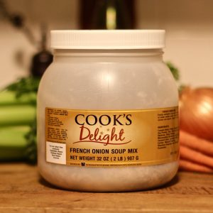 Cook's Delight French Onion Soup Mix 2 lb tub