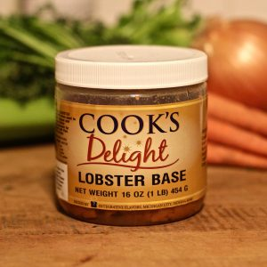 Cook's Delight Lobster Soup Base 1 lb jar