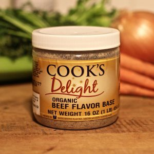 Cook's Delight Organic Beef Flavor Soup Base 1 lb jar