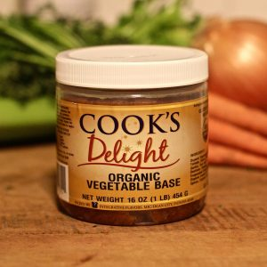 Cook's Delight Organic Vegetable Soup Base 1 lb jar