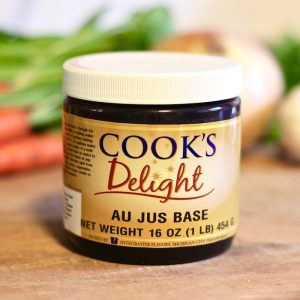 Cook's Delight Au Jus Soup Base Paste - Gluten Free and Vegan Foodservice or Industrial usage