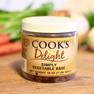 Cook's Delight Simply Vegan Vegetable Soup Base - Gluten Free Clean Label No Big 8 Allergens Foodservice or Industrial