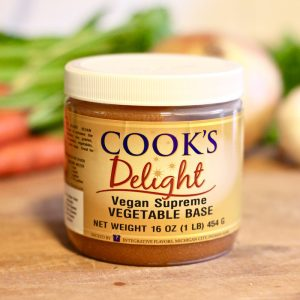 Cook's Delight Vegan Supreme Vegetable Soup Base - Gluten Free No Big 8 Allergens Clean Label Foodservice or Industrial